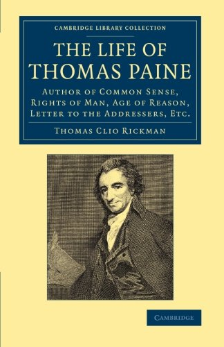 an introduction to the life of thomas paine Norton quizzes (part 5)  prisoners of the british who long for a return to normal life  in his introduction, paine submits that he has studiously avoided.