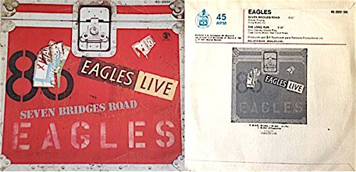 Eagles - Seven Bridges Road  The Long Run [import 45 Ps] - Zortam Music