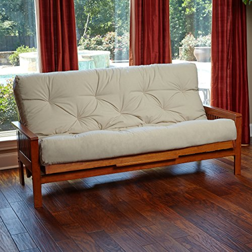 Royal Sleep Products New Replacement Futon Mattress Solid Cover 9 Layer Factory Direct Full/Queen Made in The USA