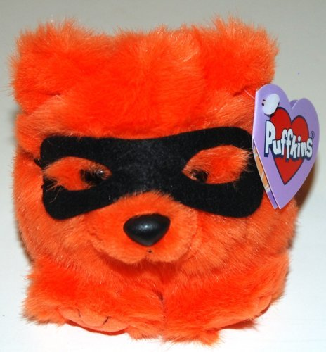 Puffkins Plush Limited Edition, Halloween Bear - Trick (1 Each)