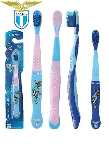 Cepillo de dientes oficial 10 años bebé S.S. Lazio *21320 producto oficial: Amazon.es: Salud y cuidado personal