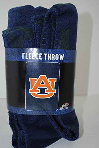 Auburn Fleece Tigers Throw (NCAA Auburn Tigers Fleece Throw)