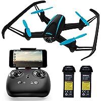 [Patrocinado] Drone UDI FPV con cámara HD y soporte de altitud, negro; U34W RC Quadcopter Transmite videos en vivo con vista en primera persona en tiempo real