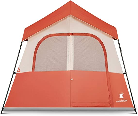 HIKERGARDEN Camping Tent - Quick & Easy Setup Camping Tent
