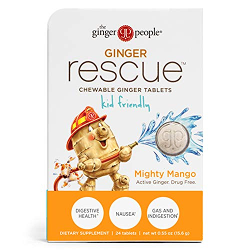 Ginger Rescue Chewable Ginger