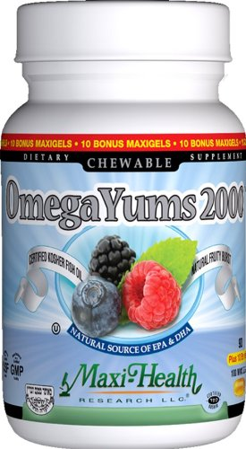 Maxi Omega Yums 2000, Softgel Capsules, 100 Count (Omega Yums compare prices)