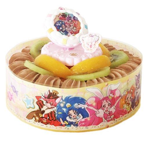 キャラデコ お祝いケーキ キラキラ☆プリキュアアラモード チョコ