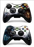Hallo 5 Xbox 360 Controller skin set of 2