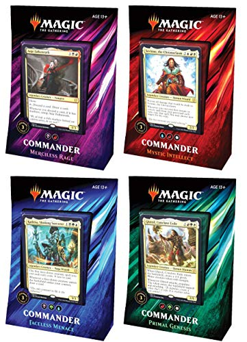 MTG Magic The Gathering 2019 Commander Set - All 4
