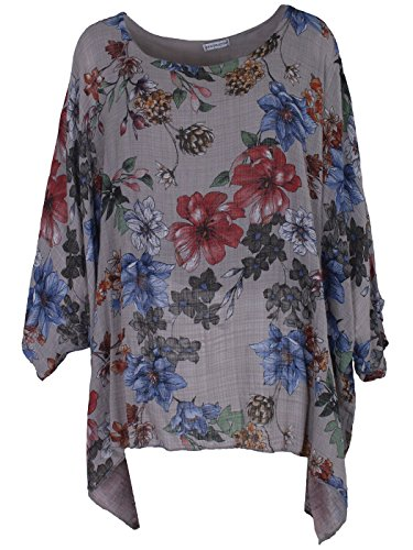 Rojo Un manga gris oscuro mujer tama Camiseta de o para Me larga complementan zUt0qwU6