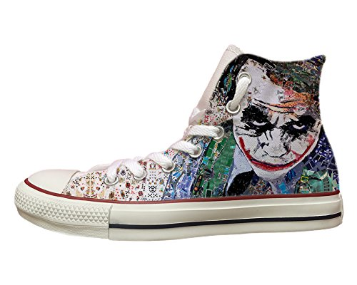 con Multicolor Stampa Star Joker All Converse Painted BwAqC4Tnx