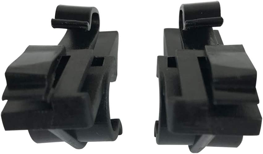 lafyHo 1 Pair Vehicle Plastic Rear Parcel Shelf Clips Replacement for Fiat Grande Punto