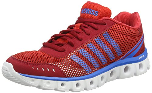K-Swiss Performance X Lite Athletic Cmf, Scarpe da Fitness Uomo Rosso (Rot (Jesterred/Fieryred/Brilblue))
