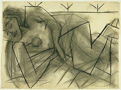 The Museum Outlet - Henri Matisse - Reclining Nude - Poster Print Online Buy (24 X 32 Inch)