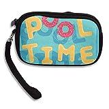 CMTRFJ Unisex Wallet for Woman Ladies -Pool Time Purse Bag Men Gentlemen