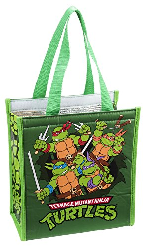 Vandor 38173 Teenage Mutant Ninja Turtles Insulated Shopper Tote, Multicolored