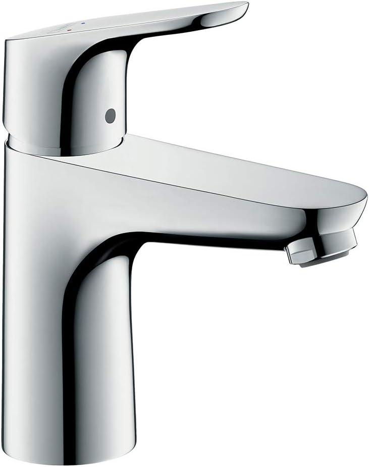Hansgrohe 31607000 Focus 100 grifo de lavabo, cromo: Amazon.es ...