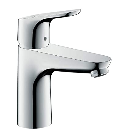 Højmoderne hansgrohe Focus Single lever basin tap 100 without waste, chrome MW-61