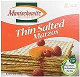 Manischewitz Thin Salted Matzo, 10 oz