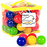 Ball Pit Balls Plastic Playballs for Kids Toddlers Babies - Perfect Sized 2.36 Inch Super Durable Crush Proof, Non-Toxic Phthalate BPA-Free - Set of 50 by K-F ToyJoy