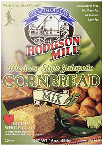Hodgson Mill Mexican Style Jalapeno Cornbread Mix, 16-Ounce Units (Pack of 6) (Mexican Cornbread Mix compare prices)