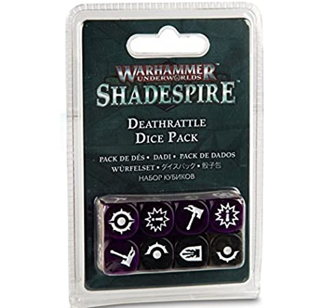 Deathrattle Dice Pack -Shadespire Dice Set: Amazon.es: Juguetes y juegos