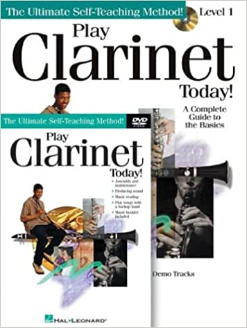 Amazon com: Play Clarinet Today! Beginner's Pack: Book/CD/DVD Pack