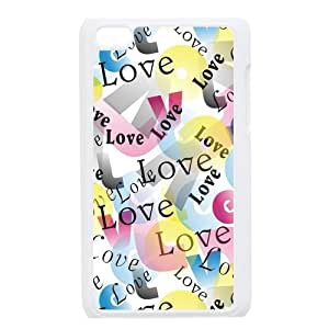 Custom Check Pattern Back Cover Case for ipod Touch 4JNIPOD4-097