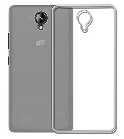 finest selection c5800 b5c30 Fasheen Back Case Cover for Micromax Bharat 4 Q440: Amazon.in ...