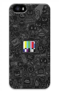 iPhone 5 5S Case Old Tv Funny Lovely Best Cool Customize iPhone 5 Cover