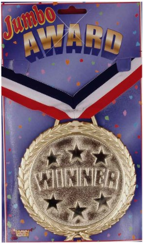 Forum Novelties Jumbo Award Winner Medallion Novelty Necklace - Prize Winning Halloween Costumes For Adults