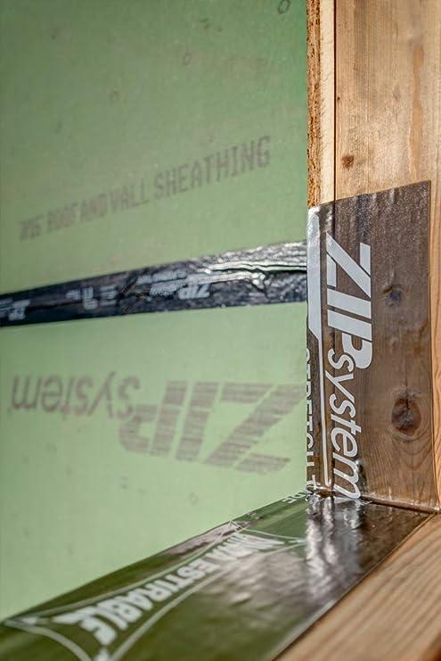 Huber ZIP System Flashing Tape6 Inches X 75 FeetSelf-Adhesive Flashing