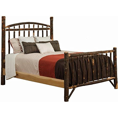 (Hickory Dakota Style Bed - Queen Size)
