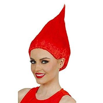 Troll Wig, Kapmore Peluca de Halloween Peluca de Colores Peluca de ...
