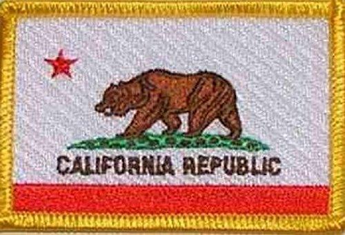 U24toppa California applicazione Patch