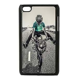 Biker Motorcycle 0 iPod Touch 4 Case Black yyfabc-345112