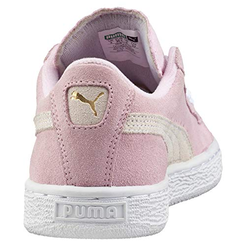Junior Suede Pink Lady Classic team white Gold Puma Sneaker Mädchen vqHx5wH4t