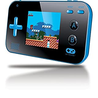 "My Arcade Gamer V Portable Gaming System - 220 Built-in Retro Style Games and 2.4"" LCD Screen - Blue/Black (B01G8GV19I) 
