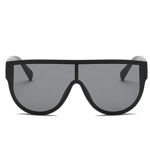 43a26ebbd6820 Amazon.com  AMOFINY Fashion Glasses Women Fashion Unisex Large Frame Shades  Sunglasses Integrated UV  Clothing