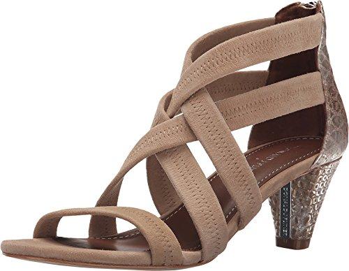 Donald J Pliner Women's Vida Natural/Platino Sandal 7.5 M