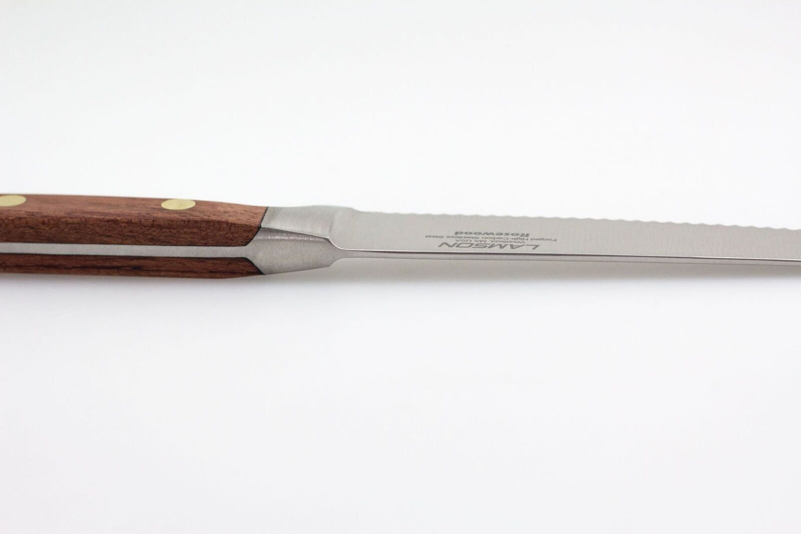 Lamson 39717 Rosewood Forged 5-inch Tomato Knife, Serrated Edge by Lamson (Image #2)