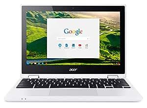 Acer Chromebook R 11CB5–132t de C73229,5cm (11,6pulgadas HD) portátil Convertible (Intel Dual Core N3150, Google Chrome Os) weiß 32 GB (eMMC) [Alemania]