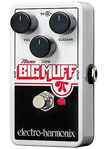Electro-Harmonix Nano Big Muff Guitar Distortion Effects Pedal (Bass Pedal Fuzz)