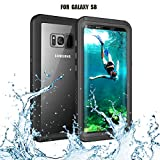 Samsung Galaxy S8 Waterproof Case, Re-Sport Full-Body Protective Shockproof Dustproof Underwater Cover Case
