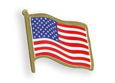 Made In USA American Flag Lapel Pin Value Pack (1 Pin)