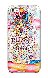 Premium Protection Human Case Cover For Iphone 5c- Retail Packaging