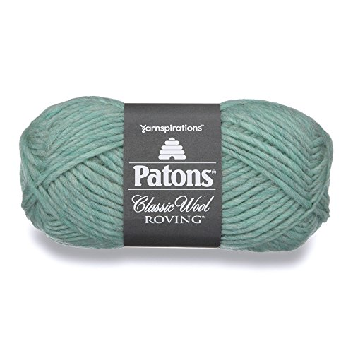Patons Classic Wool Roving Yarn, 3.5 oz, Low Tide, 1 Ball