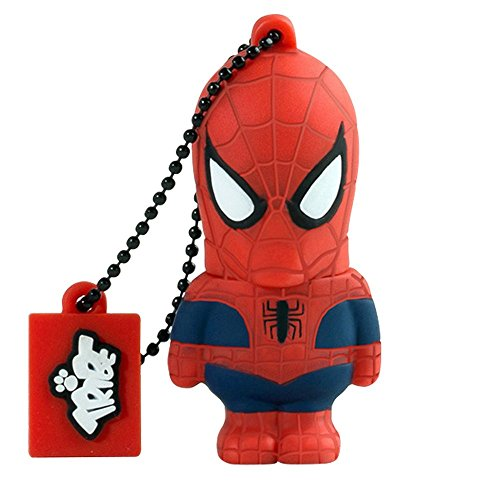 Tribe Marvel The Avengers Pendrive Figure 16GB USB Flash Drive 2.0 Memory Stick Data Storage - Spiderman (FD016505)
