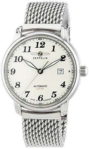 Zeppelin Automatic 7656-5M Automatic Mens Watch Made in Germany