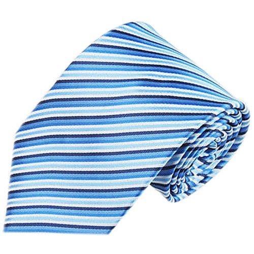 Men's Necktie - TOOGOO(R)Classic Tie Jacquard woven Men's Silk Suits Ties Necktie Hanky CufflinksModel:16 (Silk Suit Necktie)